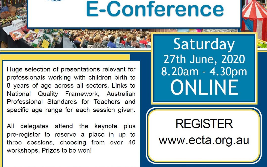 45th ECTA Early Childhood E-Conference 2020